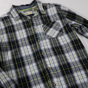 RuffHewn Shirts & Tops - Plaid Long Sleeve RuffHewn 10/12 Button in Boys